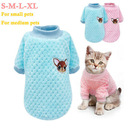 Cute Knitted Dog Jumper Pet Clothes Sweater For Yorkie Chihuahua Small Dogs Cat