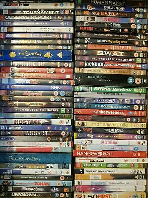 100 DVDs JOBLOT BUNDLE CARBOOT