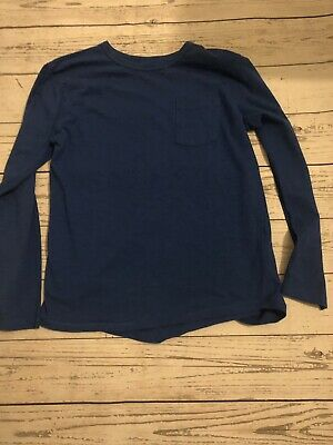 Boys Next Blue Long Sleeve Top Age 8 Years Excellent Condition