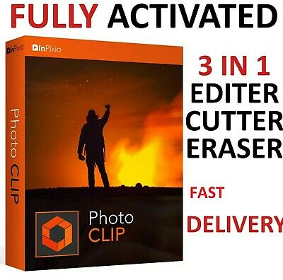 ✔️ Inpixio Photo Clip 9 Pro Latest Photo Editor Full Version ✔️ Fast Download