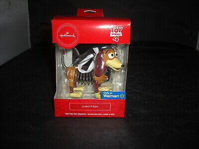 2019 Hallmark Christmas Tree Toy Story 4 Slinky Dog-Walmart Exclusive