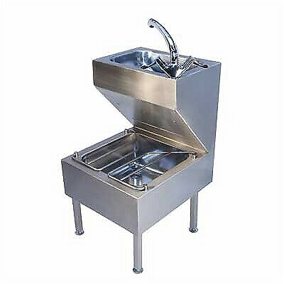 Janitorial Sink Stainless Commercial Sink Includes Mixer Tap