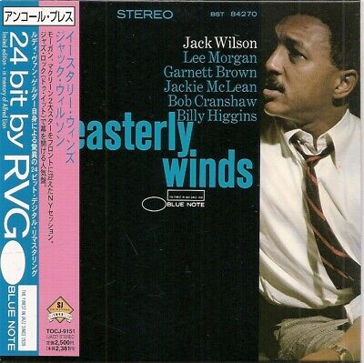Jack Wilson Easterly Winds Lee Morgan Jackie Mclean Mini Lp Japan