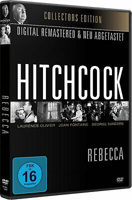 Alfred Hitchcock Rebecca Joan Fontaine Laurence Olivier George Sanders DVD Nuevo