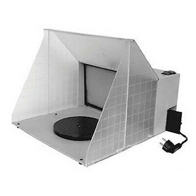 """Paasche Airbrush Company HB1613 Hobby Spray Booth: 16.5""""W x 13.5 H x 19"""" D"""