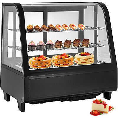 Refrigerated Bakery display case Countertop 100L Show Case Cabinet Dessert Case