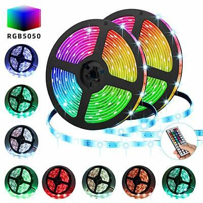 10M 5050 Rgb Led Strip Lights Color Changing Tape Under Cabinet Lighting