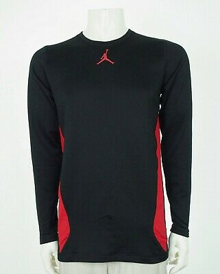 JORDAN TRAINING NIKE Dri Fit Fitted Black Basketball Shirt