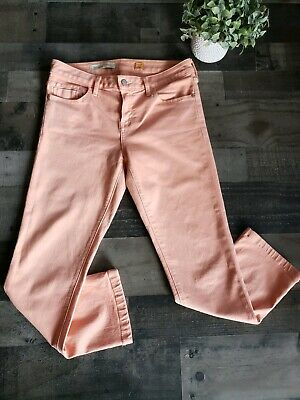 Pilcro Stet Paneled Cords Pants Size 30 Ivory Color NW ANTHROPOLOGIE Tag