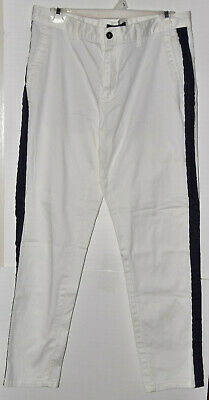 ProForce® Gladiator Demo Karate Pants Black w//White Stripe Size2 #44482 byAWMA