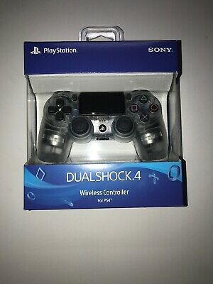 Sony DualShock 4 Wireless Controller - for PlayStation 4 - Crystal Free Shipping