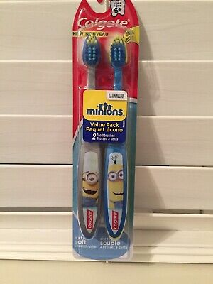 Colgate Kids Minions, Manual Toothbrush, 2 Count