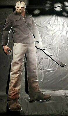 Jason voorhees friday the 13th Coroplast Huge Cutouts 4mm