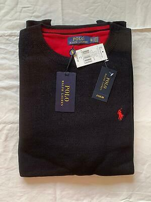Polo Ralph Lauren Cable Knit Crew Neck Long Sleeve Jumper/ Sweatshirt.
