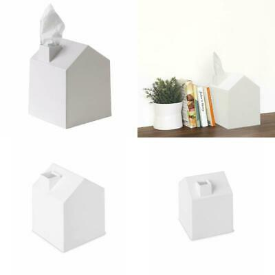 Tissue Box Cover ble House Shaped Square for Bathroom Bedroom Office