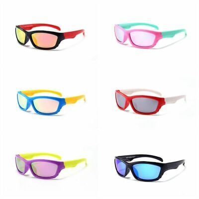 Flexible Polarised Kids Children Toddler Sunglasses Sporty Riding Shades HFA458