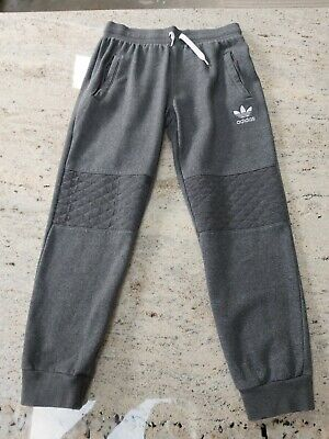 Boys Adidas Grey Joggers. Aged 11-12 Years. VGC