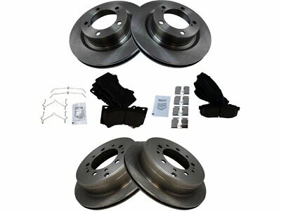 For 2000-2006 Toyota Tundra Brake Pad and Rotor Kit Front Power Stop 71672GN