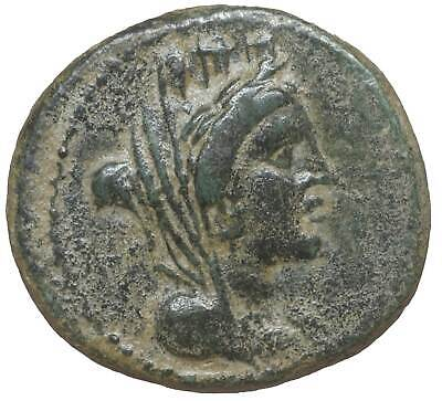 LYDIA Sardes ancient Greek coins old Bronze authentic Tyche Zeus eagle Greece