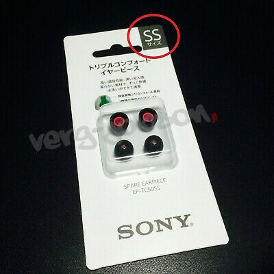 SONY EP-TC50L Large Triple Comfort Earpieces Ear Tips for XBA-Z5 Headphones etc