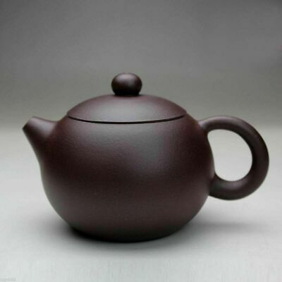Chinese Yixing xishi handmade tea pot zisha purple clay teapot zi ni 220cc