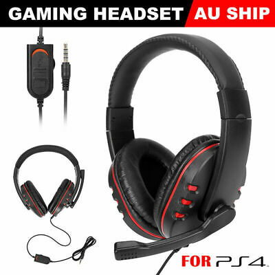 Durable Stereo Gaming Headset Headphone Wired with Mic fr PC Xbox One PS4 PS3 S3