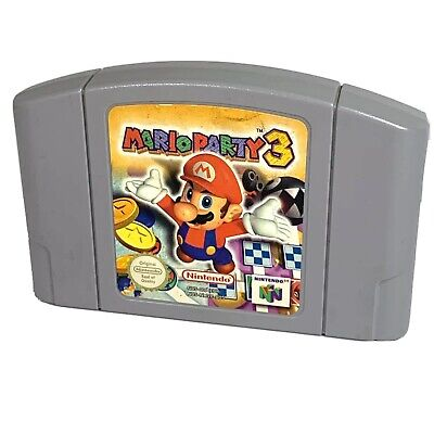 Genuine Mario Party 3 for Nintendo 64 (N64) - Cartridge Only - Tested & Working