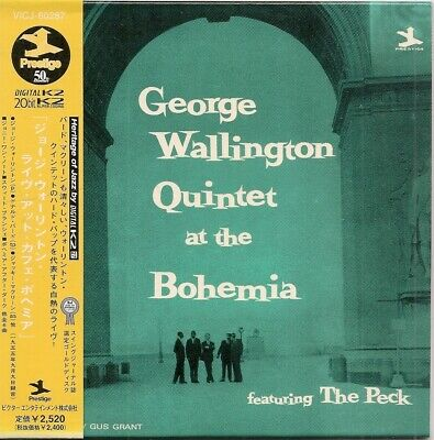 George Walltington Quintet At The Bohemia Jackie Mclean Mini Lp Japan