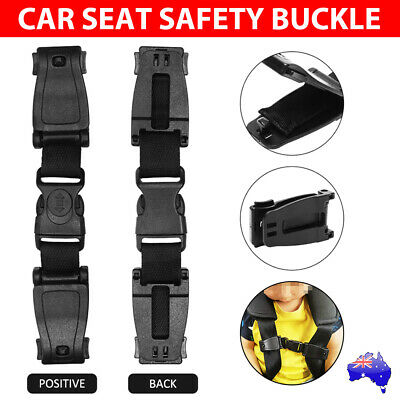 Baby Car Safety Seat Strap Belt Clip Harness Buckle Child Lock Chest Accessories