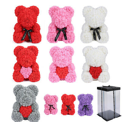Valentine's Day Gifts 40cm Wedding Rose Bear Teddy Bear Elegant Foam Day Gifts