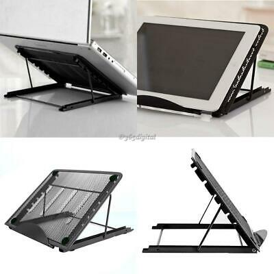 Mesh Ventilated Adjustable Metal Stand Holder for Laptop/Notebook 35DI 01