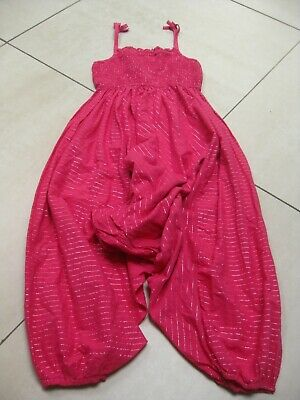 Girls NEXT harem pants jump play suit boho hippy festival trousers age 9 years