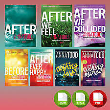 After Series (1-7) by anna todd [ E-ß00K , PÐF , EPUβ , Кindle ]