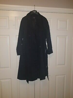 M/&S COLLECTION  Pure Cotton Longline Trench  Stormwear PRP £79 BNWT /'Bright Red/'
