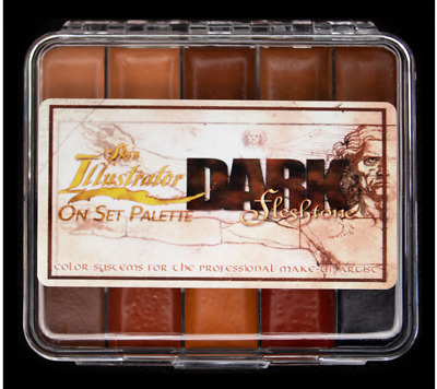 PPI Skin Illustrator Dark Fleshtone ONSET Professional Makeup Palette