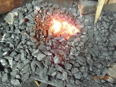 20# anthracite blacksmithing coal ANTHRACITE!!! HOTTER, LONGER, CLEANER,