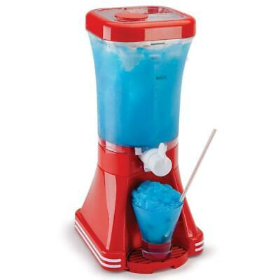 Global Gourmet American Style Slush Puppy Machine Slushie Maker - Red