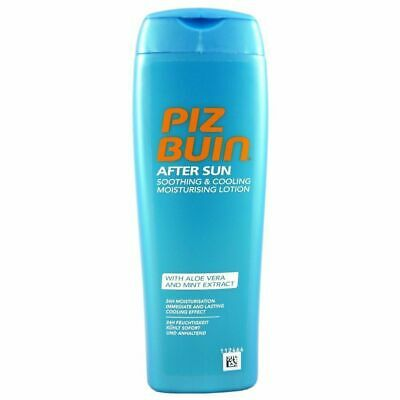 Piz Buin After Sun Soothing & Cooling Moisturising Lotion Aloe Vera Minze 200ml