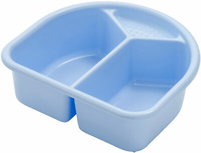 Rotho Wash Bowl with 2 Compartments - Sky Blue New
