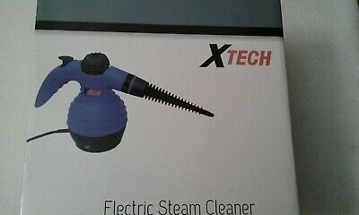 X Tech Electric Steam Cleaner XHHSC Model Brand New