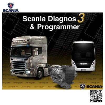 Scania Sdp3/ 2.41.2+Key Activator (Unlimited Install)