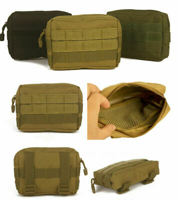 Tactical Molle Pouch Bag EDC Multi-purpose Belt Waist Pack  Utility Phone Pocket