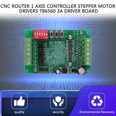 TB6560 Driver Board CNC Router Single 1 Axis Controller Stepper Motor Drivers IR