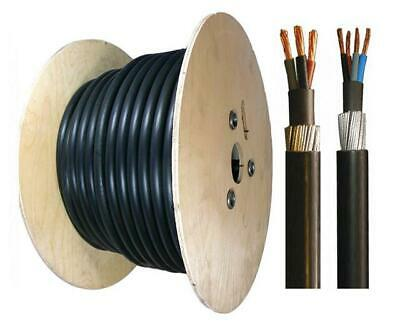 3 & 4 Core SWA Cable All Sizes 1.5mm-25mm Armoured Cable Sold Per Meter