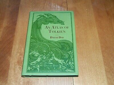 AN ATLAS OF TOLKIEN Middle Earth Hobbit Lord of the Rings Maps Map People Book
