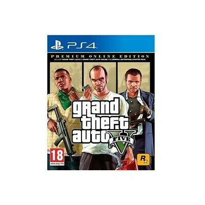 ✨Take 2 Ps4 Gta V Premium Online Edition