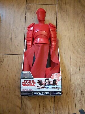 BRAND NEW 20 inch Star Wars Praetorian Guard Big-Figs With signature weapon!