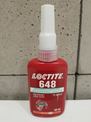 LOCTITE 648 Retaining Compound-high strength. High temperature resistance 50ml