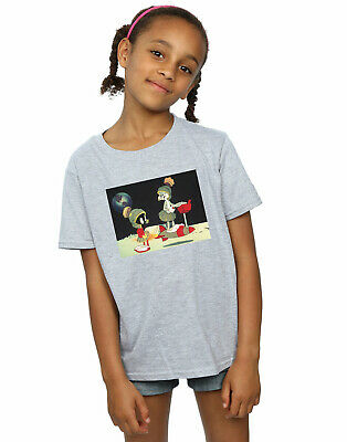 Looney Tunes Girls Bugs Bunny Spaced T-Shirt