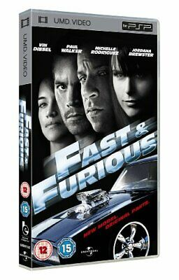 The Fast & Furious 4 [UMD Mini for PSP] - DVD  4QLN The Cheap Fast Free Post